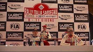 WRC - Rally Italia Sardegna 2017: Pre-Event press conference