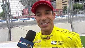 Helio Castroneves - celebrando 20 años de piloto