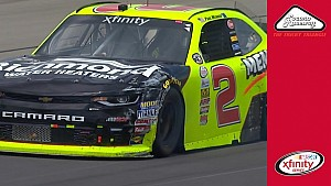 Paul Menard spins on stage 2 final lap