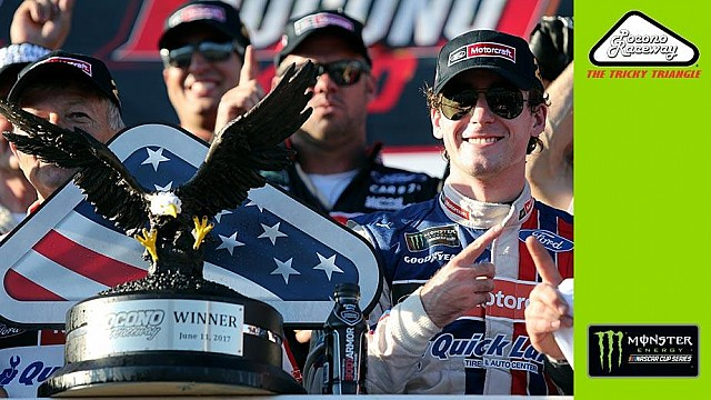 Recap: Blaney wins thriller at Pocono