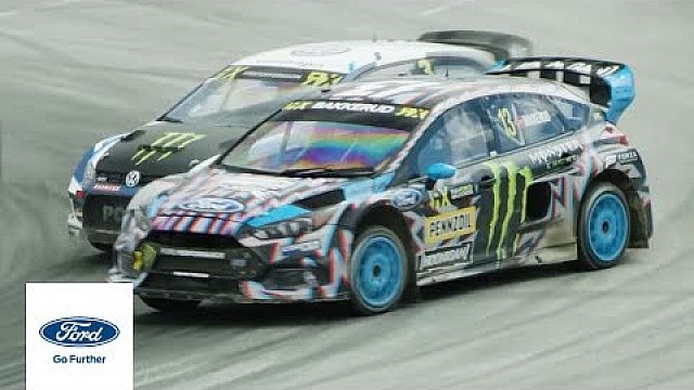 Andreas Bakkerud im Ford Focus RS RX