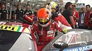 Entrenamiento de pit stop 24h de Le Mans