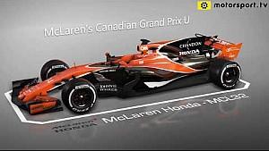 Actualizaciones  de McLaren para el GP canadiense