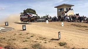 Rallye Sardinien: Lappi kollidiert mit Drohne