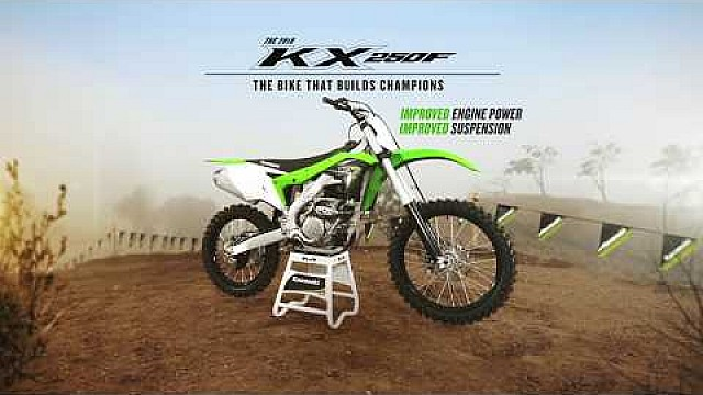 2018 KX250F tech video engine
