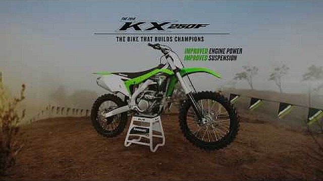 2018 KX250F tech video suspension
