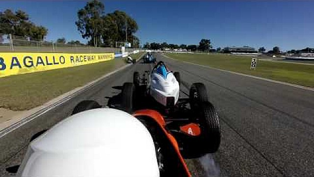 Kathys Formula Vee choque en Barbagallo 18 jun 2017
