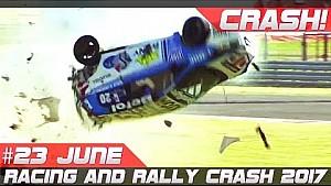 Semana 23 Junio 2017 racing & rally crash compilación