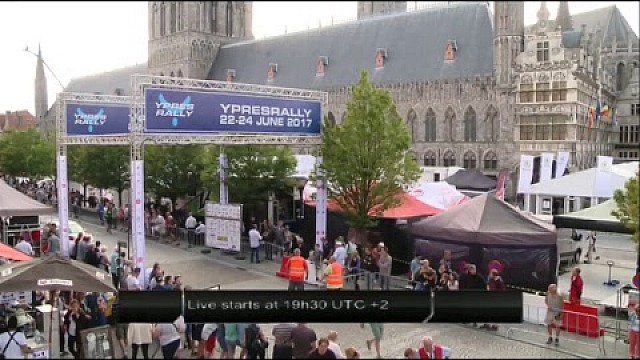 Live: Ypres Rally - Day 1 - Service B
