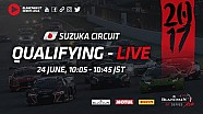 Qualifying 1 & 2 - Blancpain GT series Asia - Suzuka 2017