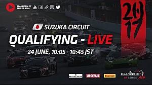 Sıralama turları 1 & 2 - Blancpain GT series Asya - Suzuka 2017