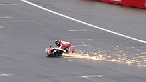 Kompilasi kecelakaan Moto3 - Sabtu di Assen