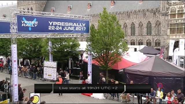 Live: Ypres Rally - Day 2 - Service G
