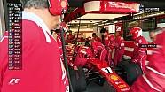 2017 Azerbaycan GP - Perez ve Räikkönen Yarışa Geri Döndüğü Anlar