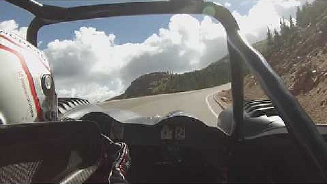 Romain Dumas am Pikes Peak