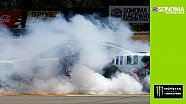 Harvick burns it down in Sonoma