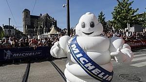 La parade de Bibendum au Mans!
