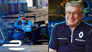 Leading the Formula E champions: DHL eChampions award - Vincent Gaillardot, Renault e.dams