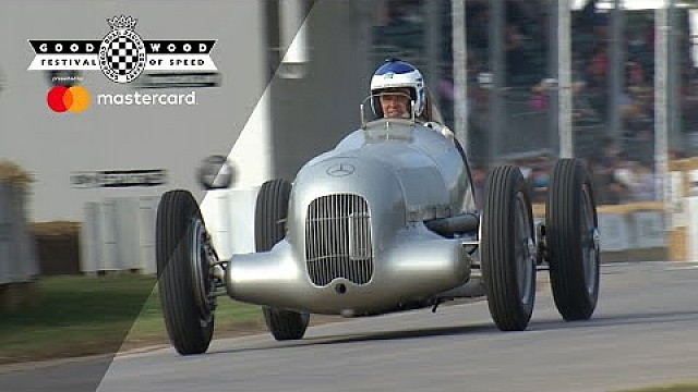 Goodwood: Mercedes W25
