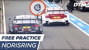 Caution: Rolling tires! - DTM Norisring 2017
