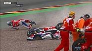 Kecelakaan Redding di Tikungan 11 Sachsenring