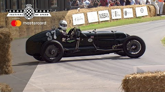 Goodwood: 1935 Frazer Nash Monoposto
