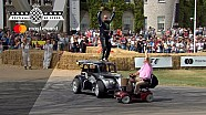 ¿Mobility Scooter vs Stunt Car?