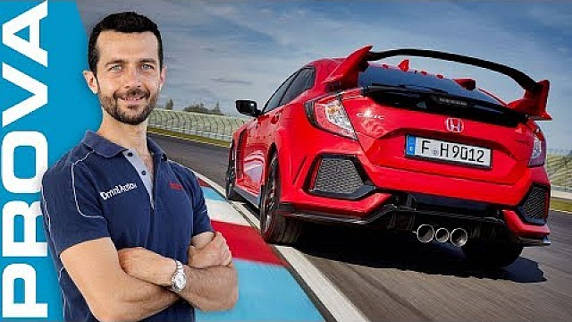 Honda Civic Type R | 320 CV scatenati in pista e su strada