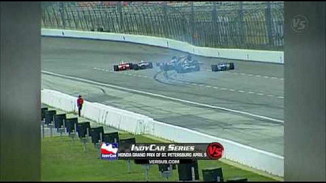 El terrible accidente de Kenny Brack en Texas en 2003