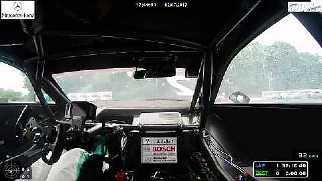 Onboard: DTM-Crash am Norisring