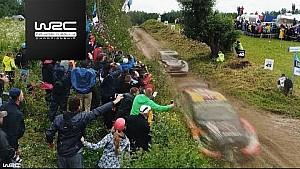 Rally Poland 2017: Evans vs. Østberg