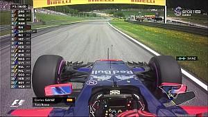 Avusturya GP FP3 - Sainz Jr. Motor Sorunu Yaşadı