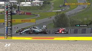 GP d'Autriche - Le dernier tour de la course