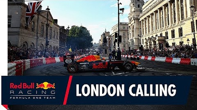 Daniel Ricciardo and Max Verstappen Light Up The Streets Of London