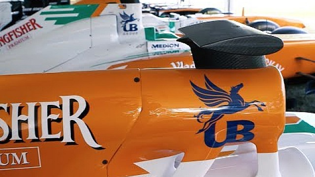 Force India spanning the F1 eras