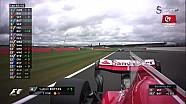 2017 Britanya GP - Bottas Vettel Çekişmesi