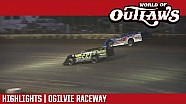 World of Outlaws Craftsman Late models Ogilvie raceway July 12, 2017 | Highlights