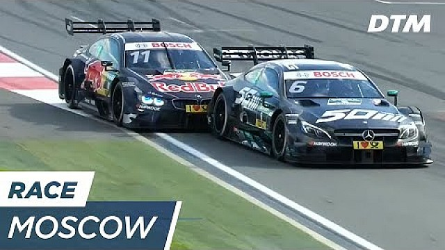 DTM Moskau: Zweikampf-Highlights