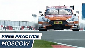Top 3 Free practice 3 - DTM Moscow 2017