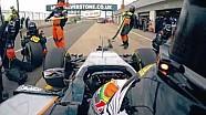 Martin Brundle mencicipi VJM08 di Silverstone