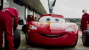 Lightning McQueen dan Jackson Storm Hadir di GP Inggris