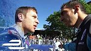 Sébastien Buemi se dispute avec des rivaux après l'ePrix de Montréal