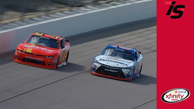 Allgaier and Preece battle for Stage 2 win at Iowa