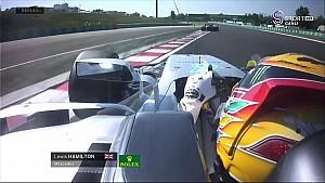 Macaristan GP - Bottas -Hamilton Yer Değiştirme