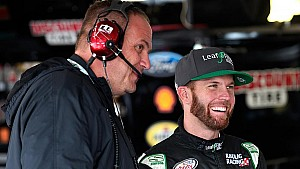 XFINITY Series crew chief Chris Rice reacts to updated participation guidelines