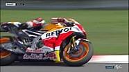 Marquez hampir mencium aspal saat FP2 #CzechGP