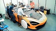 Tam boyutlu McLaren lego aracı nasıl hazırlanır?