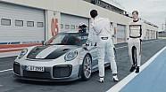 Duel geber Porsche 911 GT2 RS -