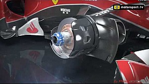 Ferrari SF15-T blown axle