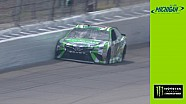 Kyle Busch smacks wall in opening Michigan practice